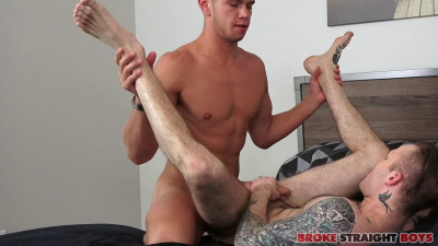 Broke Straight Boys – Tanner Valentino Doggy Style Fucks Cody Smith