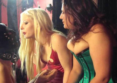 Mistress Lydia Morgan And Mellie D Smoking Domination