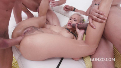 Veronica Leal assfucked 4on1