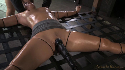 Wenona strictly restrained and does