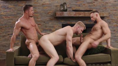 IconMale – Skyy Knox, Zayne Roman and Logan Stevens
