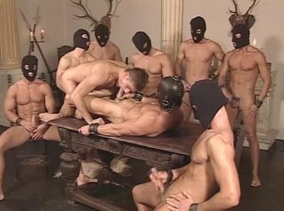 Weekend gangbang party