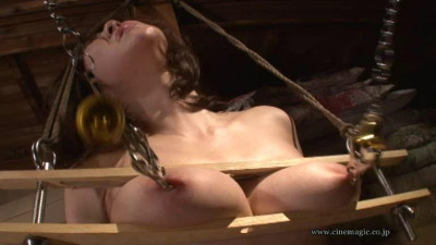 Milking torture college raw bite crotch rope hell