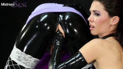 Mistress Susi - Strapon And Milking For The Shy Rubber Sissy