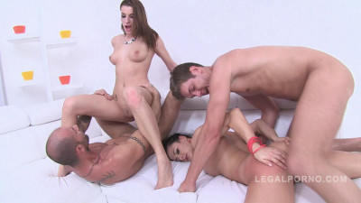 Best sluts Billy Star & Victoria Daniels only anal fucking 0% pussy