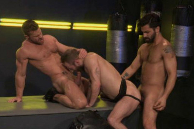 Description Muscle Fighters Banged By Big Dick