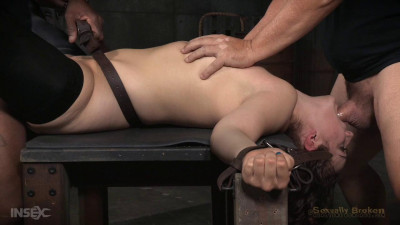 Epic conclusion of Endzas BaRS show, rough fucking by BBC in severe splits, bondage and deepthroat!