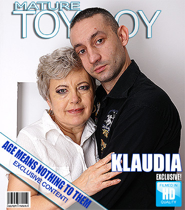Klaudia D — Chubby mature lady doing her toyboy FullHD 1080p