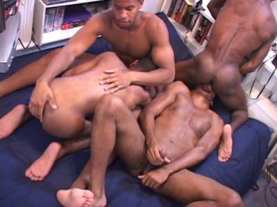 Big Black Dicks Bareback & Gangbang