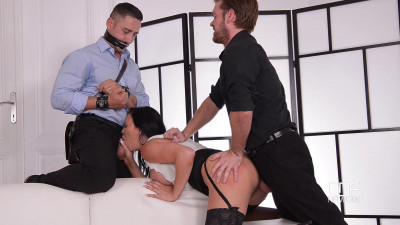 Submissive Husband Watches Wife's Cowgirl Ride