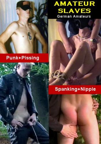 Amateur Slave Punk, Pissing, Paddle