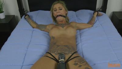 Tattooed Mega Babe is Made to Cum Krysta Kaos (2017)