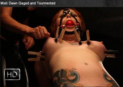 MissoGyny -  Mar 19, 2014 - Misti Dawn Gaged and Tourmented