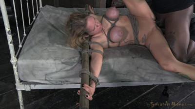 Description SexuallyBroken Big breasted Rain DeGrey takes on 10 inches of BBC