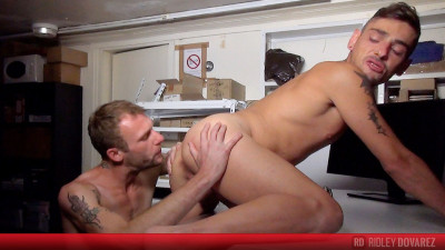 YBastards - Geeky Nick Spears in submissive slut mode