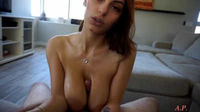lets give you nice oily titjob