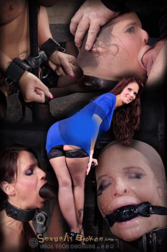 SexuallyBroken – Nov 09, 2015 – Big Breasted Sexy MILF Syren De Mer In Relentless Live Action Bound