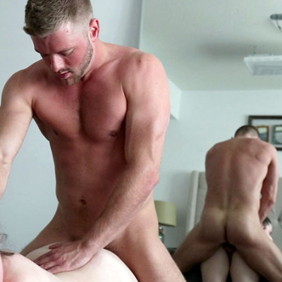 Blonde Hair Jock Sean Holmes Fucks Big Titty Monica Scott FullHD 1080p