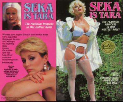 Description Seka is Tara(1981)- Seka, Veronica Hart, Samantha Fox