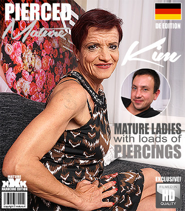 Kim O - German Pierced older lady doing her toyboy FullHD 1080p