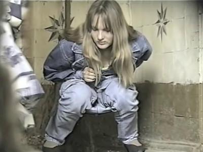 Hidden Camera In a Female Toilet - Retro Video - Scene 5 (close, pissing, piss, first, online)