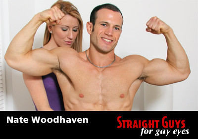 Nate Woodhaven on SG4GE (hot fuck, cum, style, straight guy)