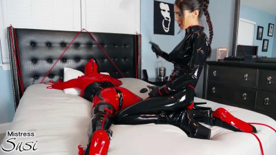 Rubber Doll Strapless Strapon Webcam Show