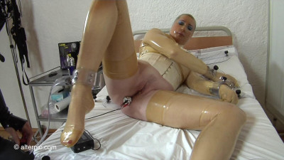 Double Electrostim Penetration – 2 of 2 – Anna Rose and Adreena Winters