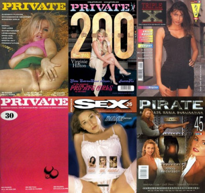 Magazines Private, Pirate, Sex, Triple X (1965-2009, 510 releases, pdf) + Bonus Photo