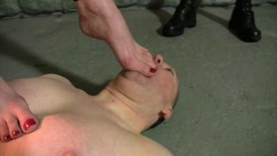 Mistress Rebekka's Butt Slut Brigade — Dirty Foot Duty Pt 3