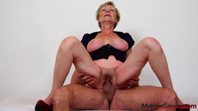 Antonia – Hairy granny gaped and fucked (2020)