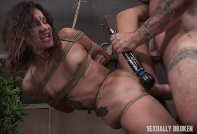 Description Hard Bondage Fucking For Amazing Eden Sin