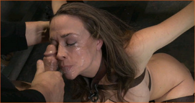 Chanel Preston sexually disgraced and brutal deep throat