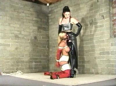 Devonshire  – Scene DP-315A – Exotic Latex Bondage & Rubber Encasement 13 – Brandy, Simone Devon