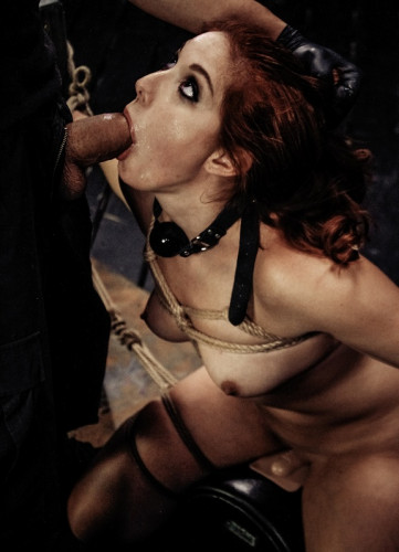 asshole dom fuck girl (Rose Red Tyrell's Limits are Tested with Rope Bondage , Full HD 1080p).
