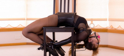 Mina - Inverted Chair Hogtie
