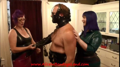 Breaking the 4th Wall – Rubber FemDom Foursome Preview