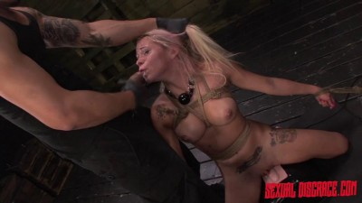 Marsha May is Horny for Rope Bondage, Deepthroat BJ, Sybian & Rough Sex.
