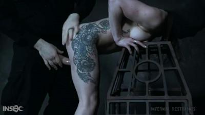 Tight bondage, torure and domination for very horny slavegirl