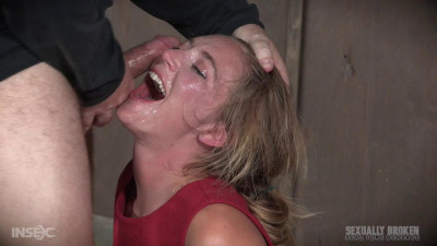 Mona Wales BaRS Part 1: The warm up, bound down in hard metal and face fucked into subspace!
