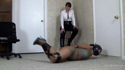 GiGi & Elizabeth Andrews – Tape Gagged Torture With Miss Andrews