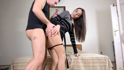 Russian Milf Flashes Her Panties – YM