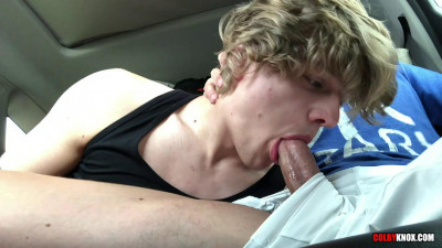 ColbyKnox – Beach Ride Blowjob – Colby Chambers and Robin Moore