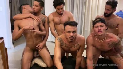 Only Fans – Rico Marlon in Hot Latin Jock Orgy