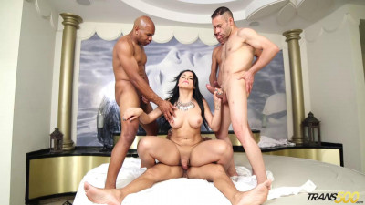 Bruna Butterfly Bruna's First Gangbang