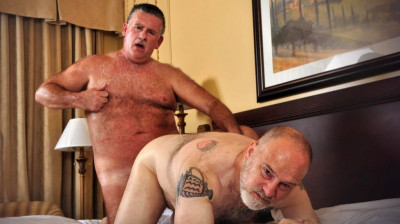 Older4Me Patrick Montana & Will Stone — Daddy On Daddy Raw