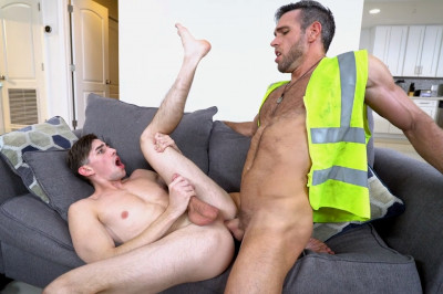 Construction Jackhammer Leads To Great Sex