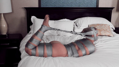 Fayth on Fire — Tape Tied, Pantyhose Encased and Mummified! — HD 720p