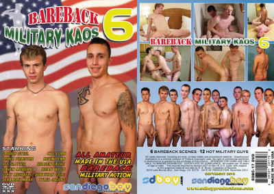 San Diego Boy Productions – Bareback Military Kaos Vol.6 (2013)