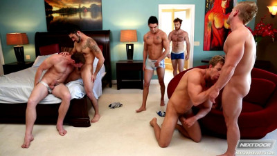 Next Door Buddies - Multiple Options - Orgy